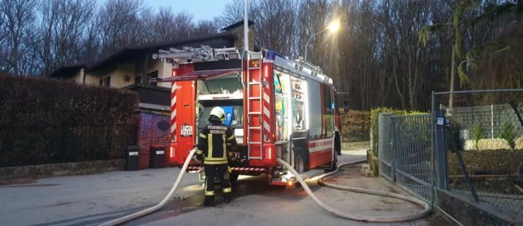 Übung Brandeinsatz